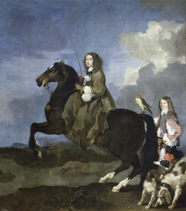 Chritsina, Queen of Sweden on Horseback