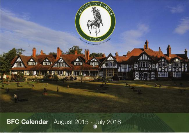 British Falconers' Club calendar for 2015