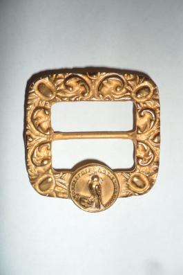 Austrian buckle for falconers