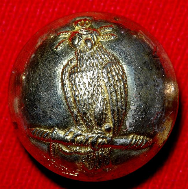Falconry Button from collection of Veronique Blontrock 008