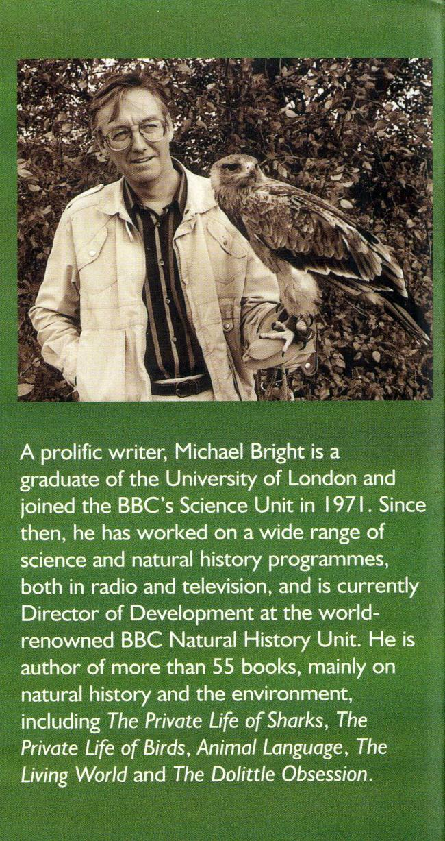 Michael Bright with hunting eagle