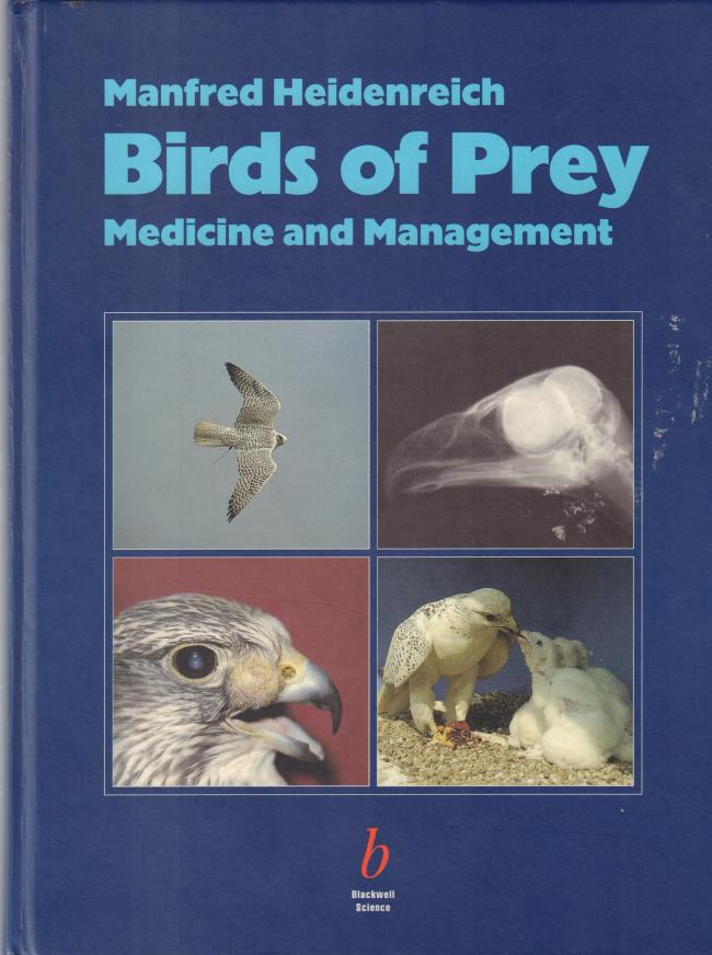 Birds of Prey: Medicine and Management by Manfred Heidenreich