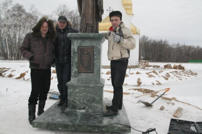 The First monument to St Triphon in Russia