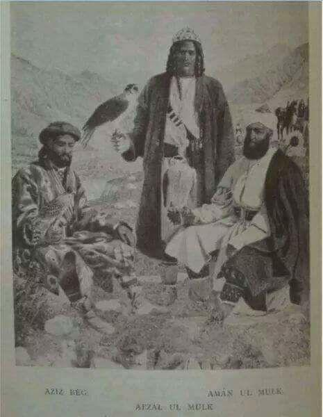 A very rare picture of falconers in Chitral in Pakistan submitted by Sabur Ud Din