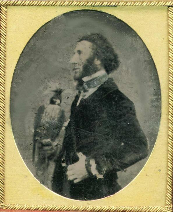 William Brodrick. Photo of circa 1848