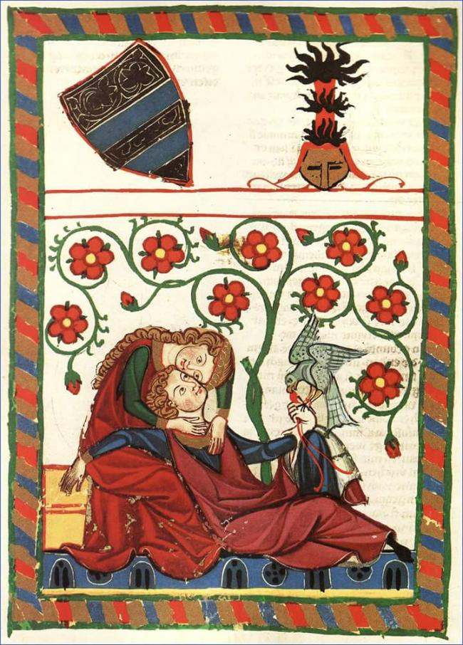 Codex Manesse or Grosse Heidelberger Liederhandschrift (Heidelberg, University Library, Cod. Germ. 8