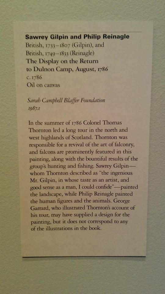 The Display on the Return to Dulnon Camp, August 1786 by Sawrey Gilpin